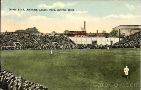 Navin Field, American League Park Detroit